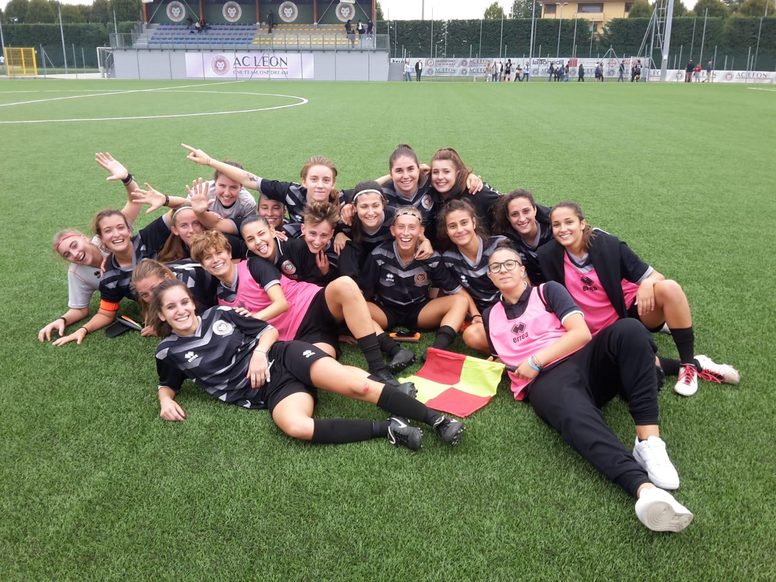 PROMOZIONE FEMMINILE:  A.C. CREMA vs FOOTBALL LEON 1-2