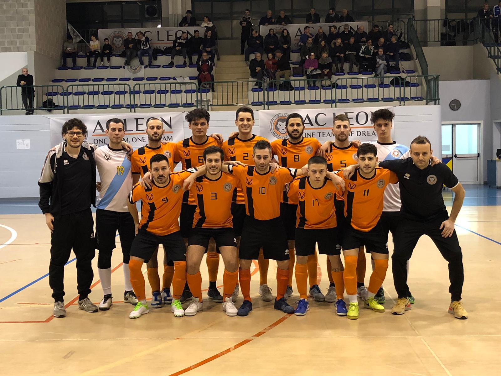 CALCIO A 5 SERIE C1 16a di campionato CHIGNOLESE vs LEON 3-5 (PT 3-0)