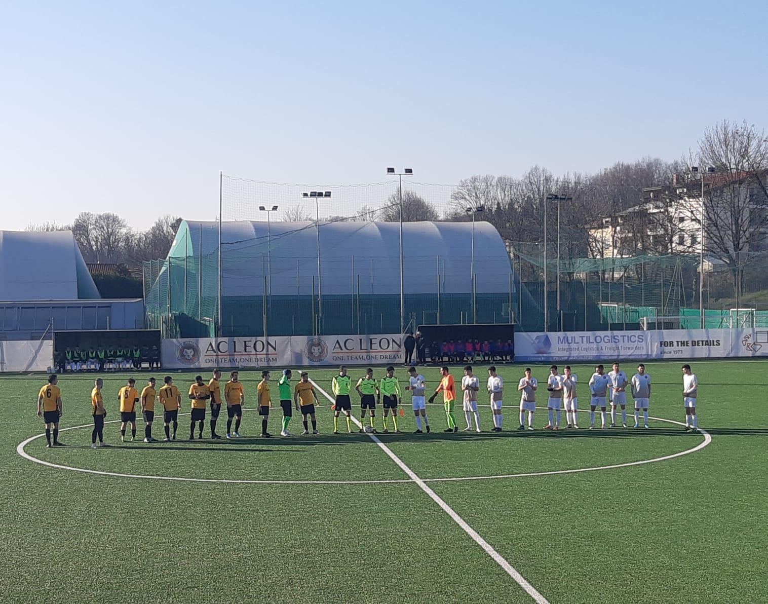 ECCELLENZA  Girone B: LEON vs LEMINE ALMENNO  4-1